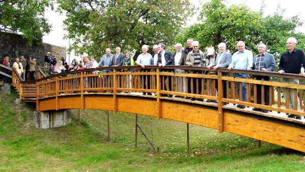 Einweihung Brücke 2014