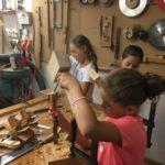 Stemmarbeiten mit dem Holzhammer